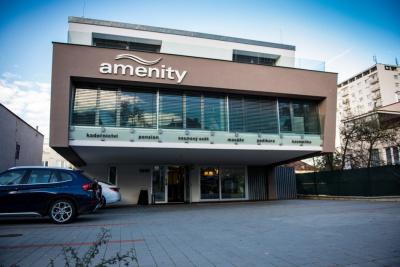 Penzionu Amenity nabízí ubytování, wellness a saunový svět ve Zlíně