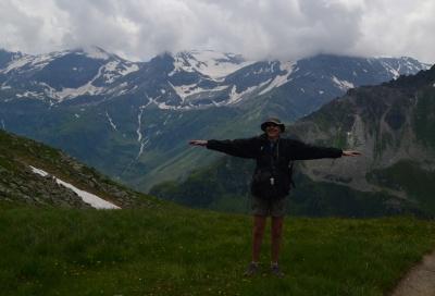 Alpy v červenci 2014