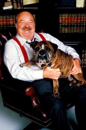 William Conrad alias Tlusťoch, zdroj: CBS Drama