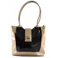 Černo béžová kabelka na rameno Venas, cena: 1 349 Kč