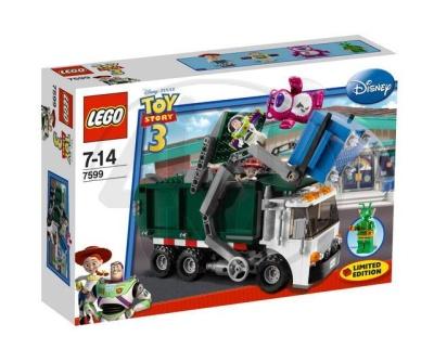 Stavebnice Lego s motivem Toy Story - popelářský vůz