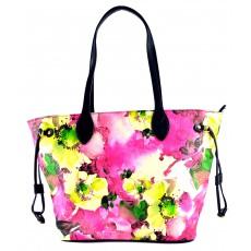 Růžová barevná kabelka na rameno Dixi, cena: 769 Kč